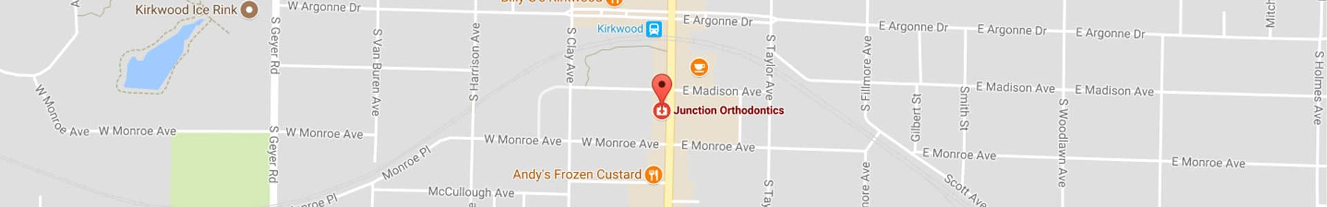 Map Junction Orthodontics in Kirkwood, MO